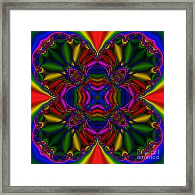 Abstract 614 Framed Print by Rolf Bertram