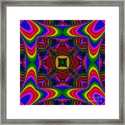 Abstract 615 Framed Print by Rolf Bertram