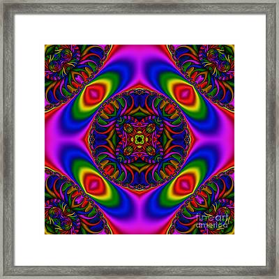Abstract 616 Framed Print by Rolf Bertram