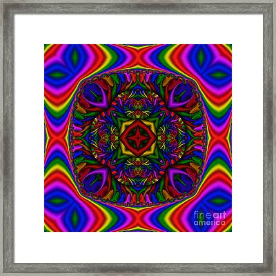 Abstract 617  Framed Print by Rolf Bertram