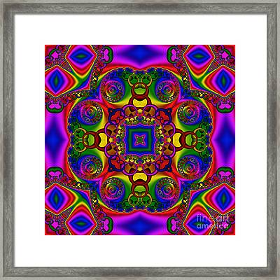 Abstract 619 Framed Print by Rolf Bertram