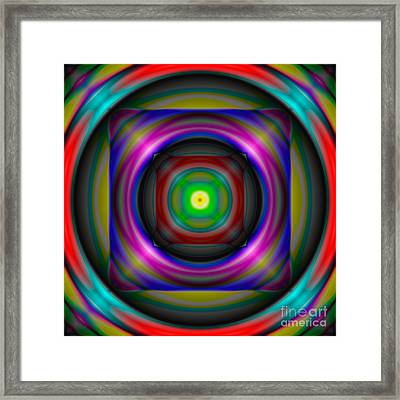 Abstract 705 Framed Print by Rolf Bertram