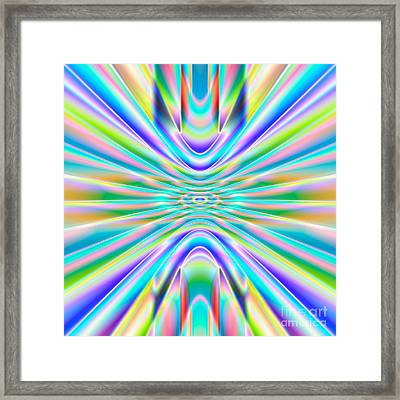Abstract 718 Framed Print by Rolf Bertram