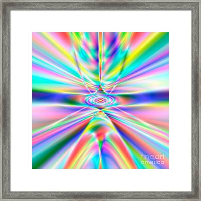 Abstract 723 Framed Print by Rolf Bertram