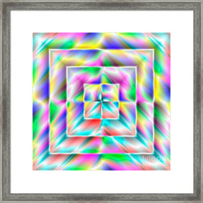 Abstract 729 Framed Print by Rolf Bertram