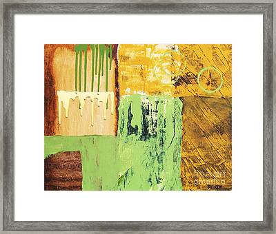 Abstract A Framed Print by Marsha Heiken