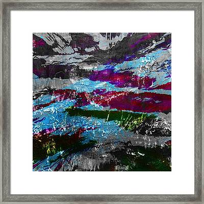 Abstract Abnormality Framed Print by Filippo B
