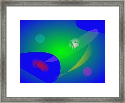 Abstract Aquarium Framed Print by Masaaki Kimura