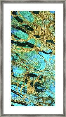 Abstract Art - Deeper Visions 3 - Sharon Cummings Framed Print by Sharon Cummings