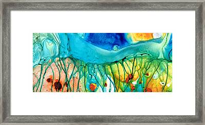 Abstract Art - Journey To Color - Sharon Cummings Framed Print by Sharon Cummings