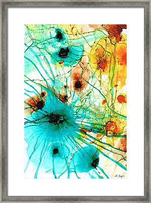 Abstract Art - Possibilities - Sharon Cummings Framed Print by Sharon Cummings