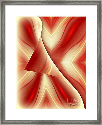 Abstract Art - The Truth About The Truth By Rgiada Framed Print by Giada Rossi