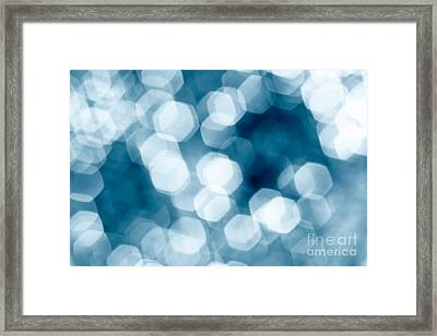 Abstract Background Framed Print by Gaspar Avila
