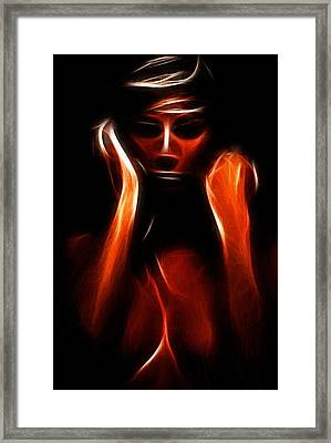 Abstract Beauty Painting Framed Print by Steve K