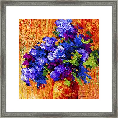 Abstract Boquet 3 Framed Print by Marion Rose
