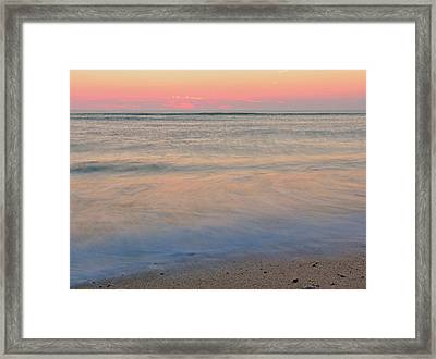 Abstract Cape Cod Framed Print by Juergen Roth