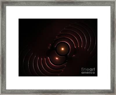 Abstract Chromeart Framed Print by Steve K