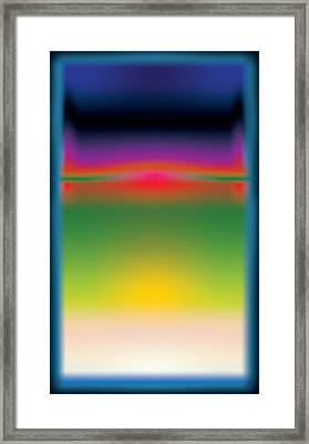 Abstract Color  Framed Print by Gary Grayson