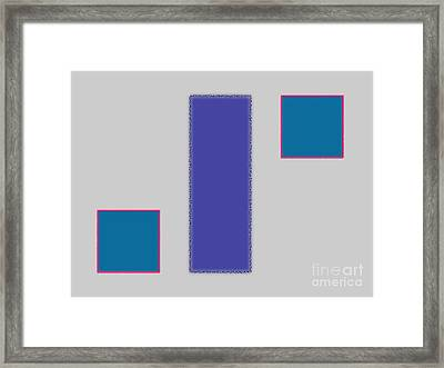 Abstract Composition 04 Framed Print by Celestial Images