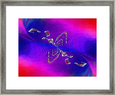 Abstract Cubed 350 Framed Print by Tim Allen