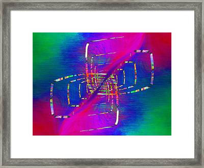 Abstract Cubed 363 Framed Print by Tim Allen