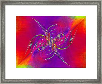 Abstract Cubed 365 Framed Print by Tim Allen