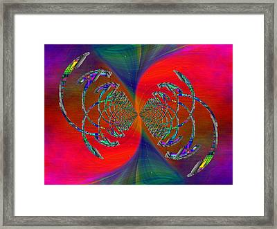Abstract Cubed 366 Framed Print by Tim Allen