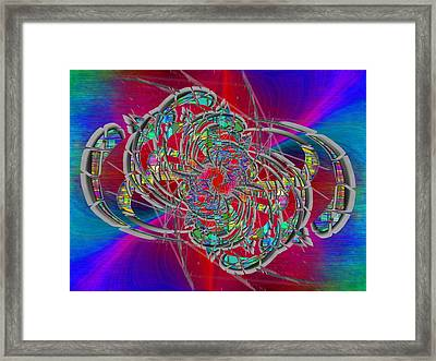 Abstract Cubed 367 Framed Print by Tim Allen