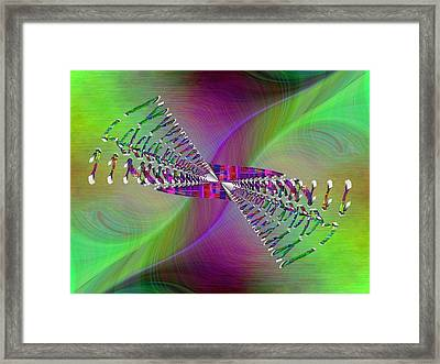 Abstract Cubed 370 Framed Print by Tim Allen