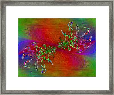 Abstract Cubed 371 Framed Print by Tim Allen