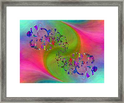 Abstract Cubed 381 Framed Print by Tim Allen