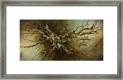 Abstract Design 107 Framed Print by Michael Lang