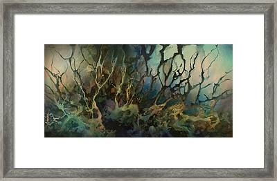 Abstract Design 49 Framed Print by Michael Lang