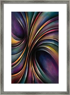 Abstract Design 55 Framed Print by Michael Lang