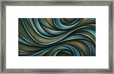 Abstract Design 70 Framed Print by Michael Lang
