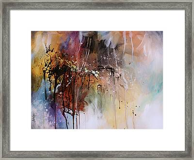 Abstract Design 80 Framed Print by Michael Lang