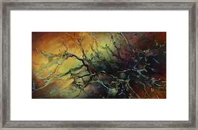 Abstract Design 85 Framed Print by Michael Lang