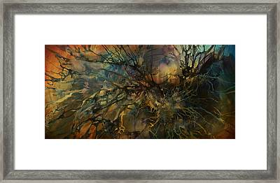 Abstract Design 88 Framed Print by Michael Lang