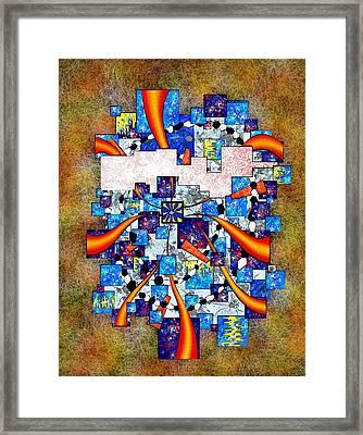 Abstract Digital Art - Deselia V2 Framed Print by Cersatti