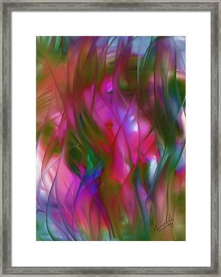Abstract Dreams Framed Print by Gina Lee Manley