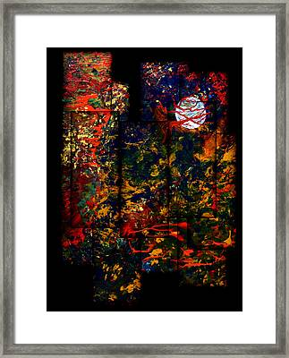 Abstract Evening Framed Print by Patricia Motley