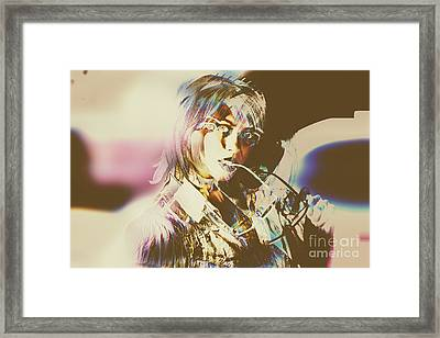 Abstract Fashion Pop Art Framed Print by Jorgo Photography - Wall Art Gallery