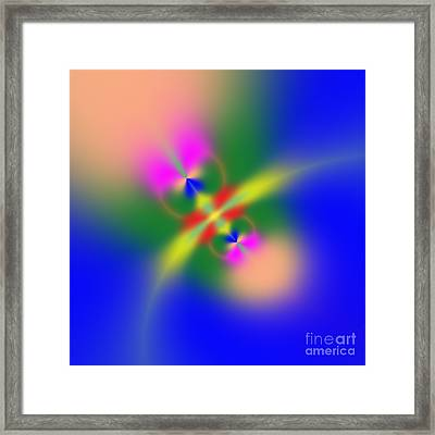 Abstract Fly 070908010101 Framed Print by Rolf Bertram