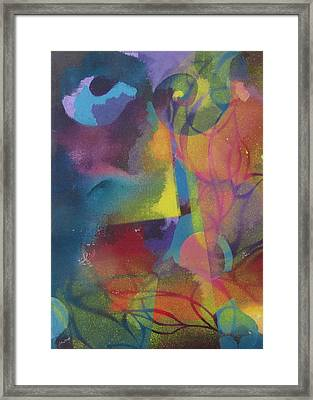 Abstract Garden Framed Print by Alfred Ng
