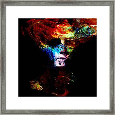 Abstract Ghost Framed Print by Marian Voicu