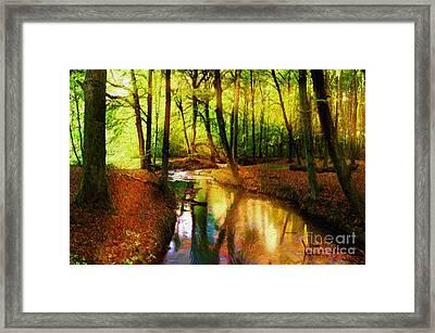 Abstract Landscape 0747 Framed Print by Rafael Salazar