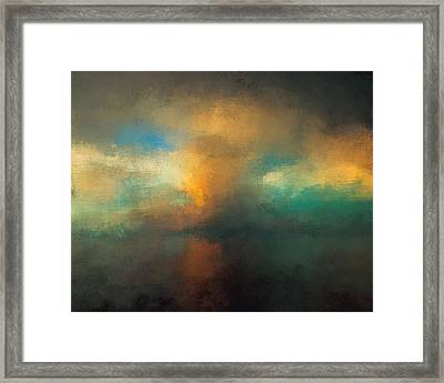 Abstract Landscape 2 Framed Print by Lonnie Christopher