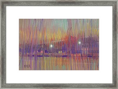 Abstract Landscape Three Framed Print by Donald Maier