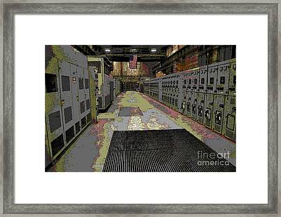 Abstract - Solid State Rectifiers In M42 Framed Print by Jacqueline M Lewis