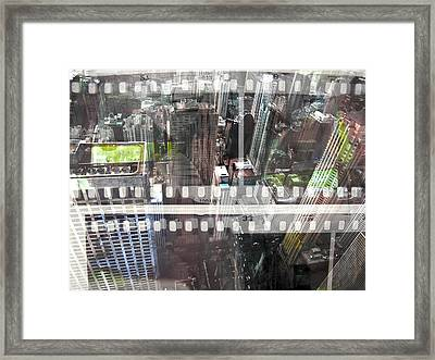 Abstract Movie Framed Print by David Studwell